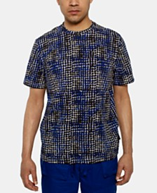 Sean John Men's Abstract Geo Graphic T-Shirt