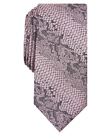 I.N.C. Men's Copperhead Skin Graphic Tie, Created for Macy's