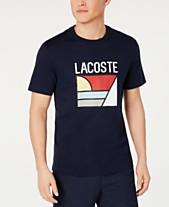 b6c261a3d32 Lacoste Men s Logo Graphic T-Shirt