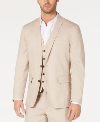 I.N.C. Men's Slim-Fit Stretch Linen Blazer, Created for Macy's