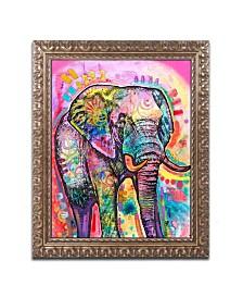 Dean Russo 'Elephant' Ornate Framed Art