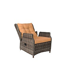 Relax A Lounger Camry Outdoor Recliner And Ottoman