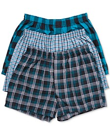 Men's 3-Pk. Ultimate Woven Boxers