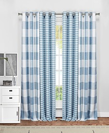"Colin 37"" x 84"" 4-Piece Blackout Curtain Set"