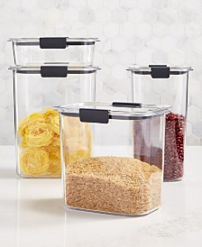 Rubbermaid Brilliance 8-Pc. Container Set