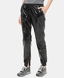 MICHAEL Michael Kors Pleather Track Pants