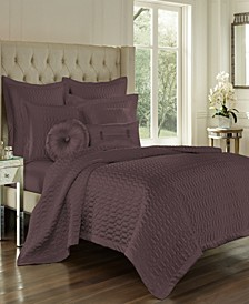 J Queen Satinique King Coverlet