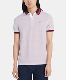Tommy Hilfiger Men's Custom Fit Travis Polo