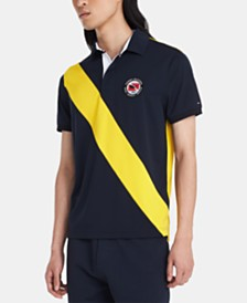 Tommy Hilfiger Men's Custom Fit Steve Polo