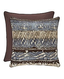 "J Queen Okemo  20"" Square Decorative Throw Pillow"