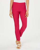 bab72158adcb6d Charter Club Chelsea Tummy Control Skinny-Leg Ankle Pants, Created for  Macy's