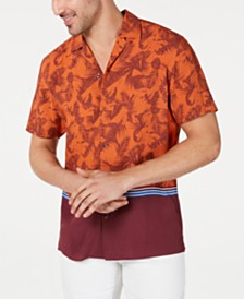 I.N.C. Men's Rico Camp Shirt, Created for Macy's
