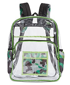 Accessory Innovations Little & Big Boys Thinking Clear Backpack