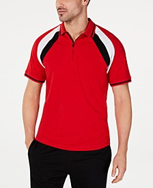 INC Men's Colorblocked Polo, Created for Macy's