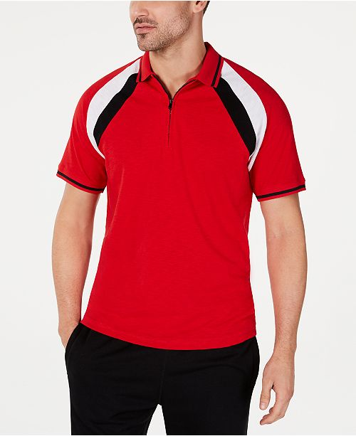 INC International Concepts INC Men's Colorblocked Polo, Created for Macy's