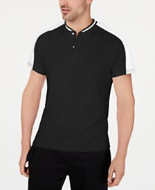I.N.C. Men's Perforated Polo, Created for Macy's