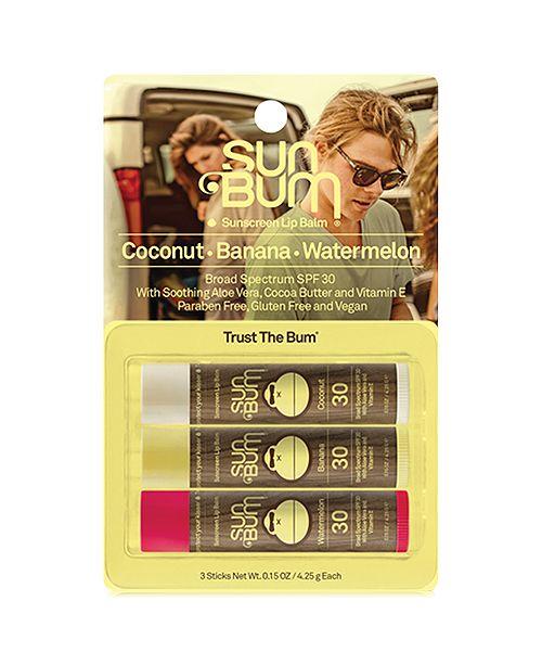 Sunscreen Lip Balm 3-Pack by Sun Bum #2