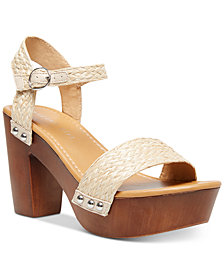 Madden Girl Lift Platform Sandals