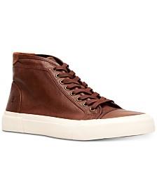 Frye Men's Ludlow Cap-Toe High Top Sneakers