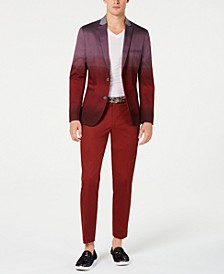 INC Men's Slim-Fit Colorblocked Blazer, Created for Macy's