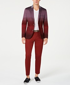 I.N.C. Men's Slim-Fit Colorblocked Blazer, Created for Macy's