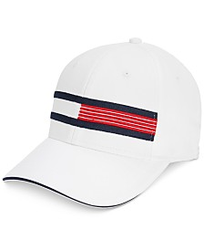 Tommy Hilfiger Men's Trad Logo Embroidered Golf Cap