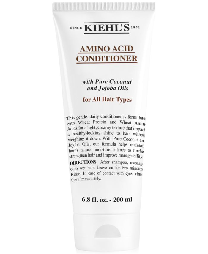 Kiehl's Since 1851 Amino Acid Conditioner, 6.8-oz. & Reviews - Beauty - Macy's