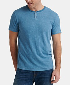 Men's Solid Henley