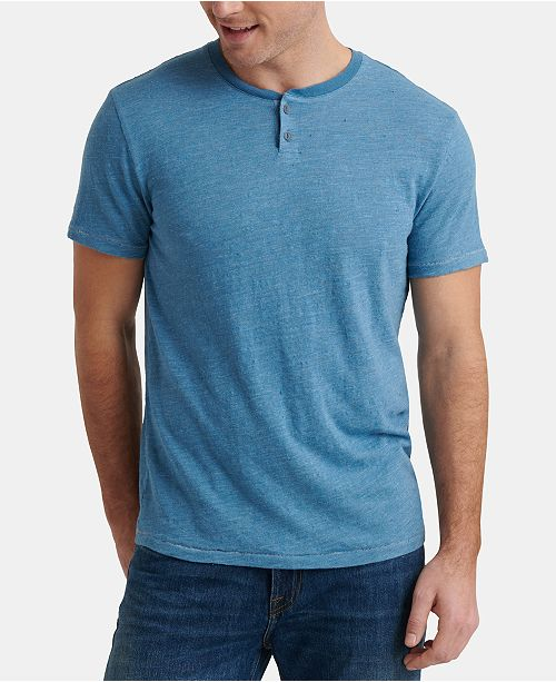Lucky Brand Men's Solid Henley