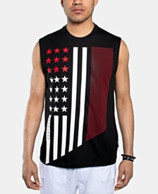 Sean John Men's Graphic Muscle Tank Top