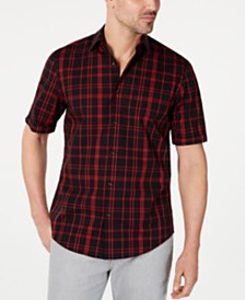 Alfani Men's Brandon Plaid Shirt, Created for Macy's