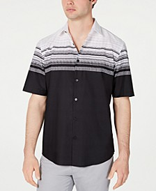 Men's Abstract Stripe-Print Shirt, Created for Macy's
