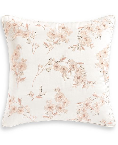 "Hotel Collection Classic Roseblush 18"" x 18"" Decorative Pillow, Created for Macy's"