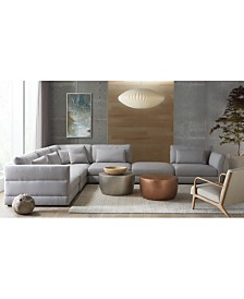 Coylan Fabric Sectional Sofa Collection