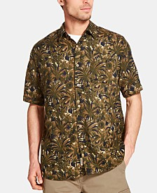 Weatherproof Vintage Men's Tropical Foliage Shirt