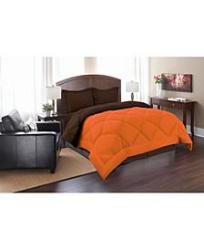 All - Season Down Alternative Luxurious Reversible 2-Piece Comforter Set Twin/Twin XL
