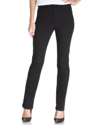 Image of Style & Co Petite Tummy-Control Slim-Leg Jeans, Created for Macy's