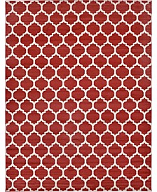 "Arbor Arb1 Red 12' 2"" x 16' Area Rug"