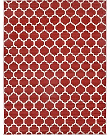 "Bridgeport Home Arbor Arb1 Red 12' 2"" x 16' Area Rug"