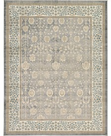 Bridgeport Home Bellmere Bel3 Gray 9' x 12' Area Rug