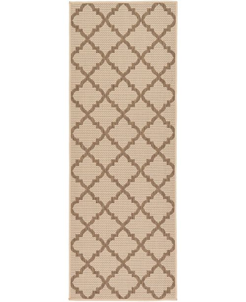 "Bridgeport Home Pashio Pas5 Beige 2' 2"" x 6' Runner Area Rug"