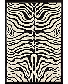 Bridgeport Home Maasai Mss4 Beige 7' x 10' Area Rug