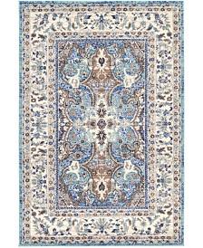 Bridgeport Home Wisdom Wis2 Light Blue 4' x 6' Area Rug