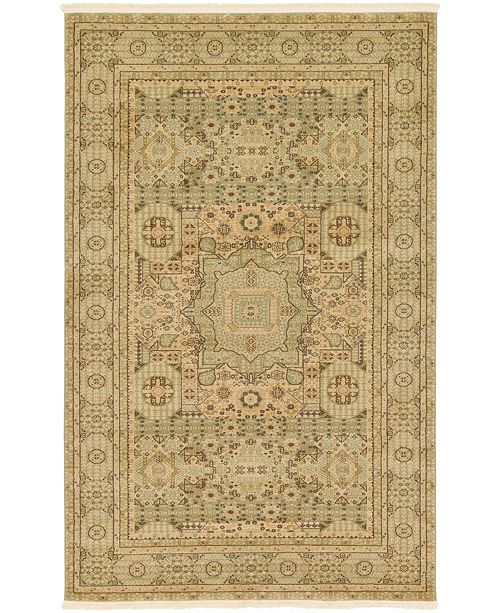 Bridgeport Home Wilder Wld1 Light Green 5' x 8' Area Rug
