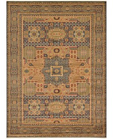 Bridgeport Home Wilder Wld1 Navy Blue 13' x 18' Area Rug