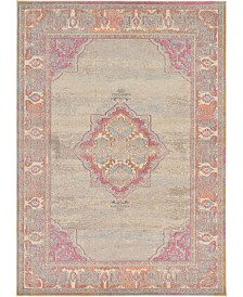 Bridgeport Home Sana San9 Beige 7' x 10' Area Rug