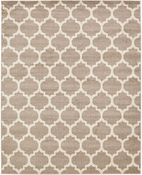 Bridgeport Home Arbor Arb1 Tan 8' x 10' Area Rug