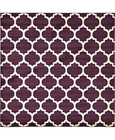 Arbor Arb1 Purple 8' x 8' Square Area Rug