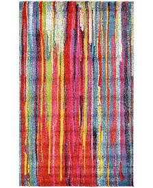 "Bridgeport Home Pari Par7 Multi 3' 3"" x 5' 3"" Area Rug"