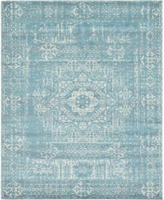 Wisdom Wis3 Light Blue 8' x 10' Area Rug